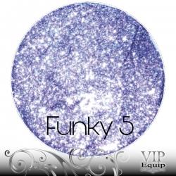 Funky Stars No.5 Shiny Lilac