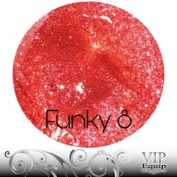 Funky Stars No.8 Red